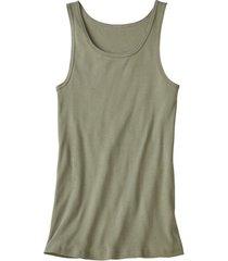 dubbelpak t-shirt zonder mouwen, olijf 6