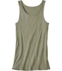 dubbelpak t-shirt zonder mouwen, olijfgroen 4
