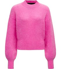 federica tosi pink mohair blend sweater
