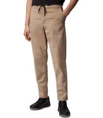 boss men's medium beige sabriel pants