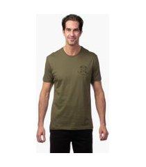 camiseta jab let´s get lost verde escuro