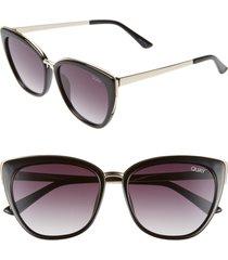 women's quay australia honey 55mm cat eye sunglasses -