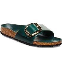 madrid big buckle shoes summer shoes flat sandals grön birkenstock