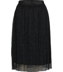 dariane cecilie skirt knälång kjol svart bruuns bazaar