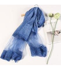 sciarpa di seta casuale di viaggio della sciarpa di seta artificiale di oversize di 190cm * 90cm di estate
