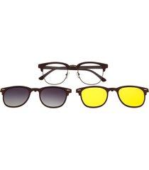 montura de gafas con lente extra (multi) - lvmu0341 - gradiente