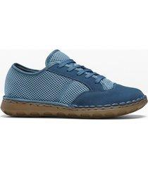 sneaker comode in pelle (blu) - bpc selection