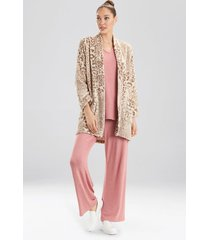 leopard topper, women's, size l/xl, n natori