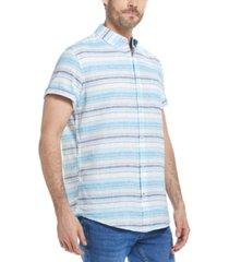 weatherproof vintage men's carson striped shirt