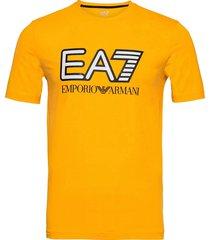 t-shirt kortärmad skjorta gul ea7