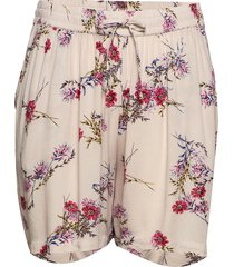 shorts floral print plus loose fit shorts flowy shorts/casual shorts rosa zizzi