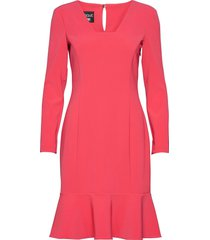 boutique moschino dress jurk knielengte roze boutique moschino