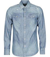 overhemd lange mouw g-star raw 3301 slim shirt l/s