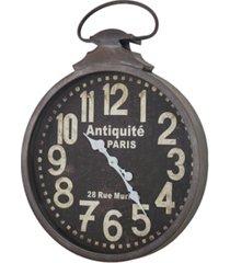 american art decor antiquite de paris pocket watch wall clock