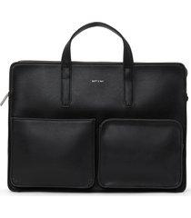 matt & nat soren briefcase, black