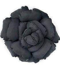 poduszka kwiat roxanne czarna