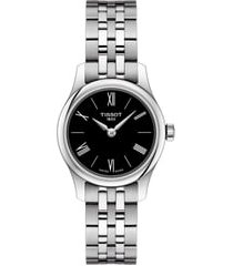 women's tissot tradition 5.5 lady round bracelet watch, 25mm
