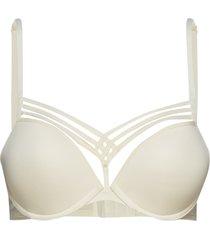 md d.de paris push up ivory lingerie bras & tops push-up bra creme marlies dekkers