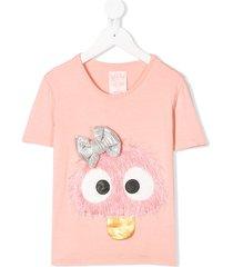 wauw capow short sleeve cute connie t-shirt - pink