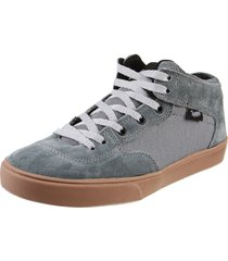 zapatilla gris trooper slim