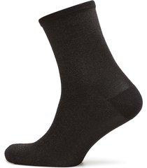 dina solid coll. lingerie hosiery socks svart becksöndergaard