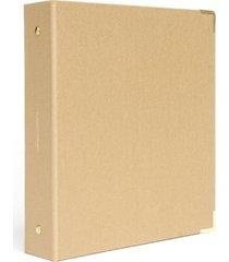 russell & hazel mini 3 ring bookcloth binder