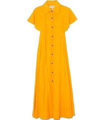 aimilios dress in saffron