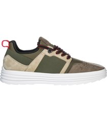 scarpe sneakers uomo in pelle h341
