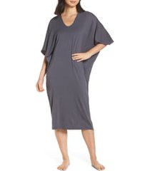 women's barefoot dreams luxe jersey nightgown