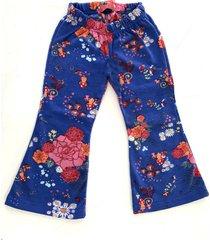 pantalón azul zuppa oxford nena outlet frisado