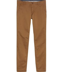 pantalón tjm scanton chino marrón tommy jeans