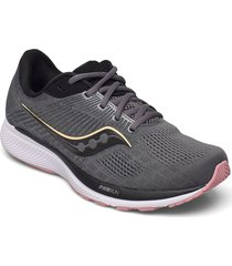 guide 14 wide shoes sport shoes running shoes svart saucony