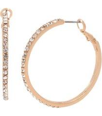 jessica simpson stone hoop earrings