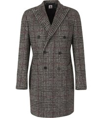 cross checked coat