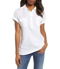 women's tommy bahama sea spray linen shirt