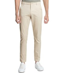 dkny men's straight-fit core twill pants