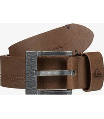 stitchy faux leather belt