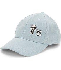graphic cotton blend baseball cap