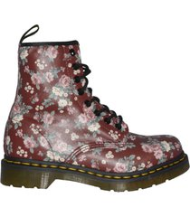 dr. martens anfibi vintage rose softy
