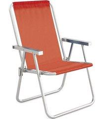 cadeira alta conforto alumínio sannet