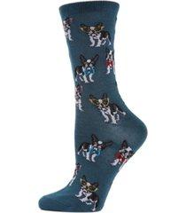 memoi studious dogs women's novelty socks