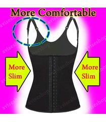 #1 underbust waist cincher vest trainer girdle control chaleco bodyshaper  @9