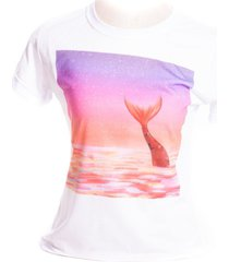 camiseta branca prorider bad rose personagem autoral nanami nem ocean