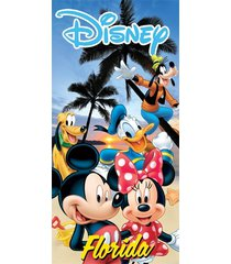 oversized licensed disney world florida souvenir character beach towels