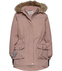 jacket mathilde tech parka jacka rosa wheat