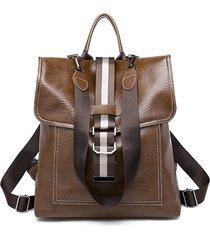borsa a tracolla multifunzionale in pelle ecologica borsa per le donne