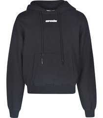 off-white marker over hoodie