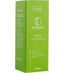 tônico facial poros - tonificação e hidratação - 120 ml