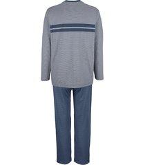 pyjamas babista blå::grå