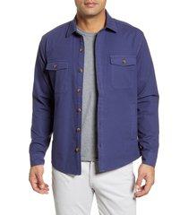 men's peter millar calvary classic fit button-up shirt jacket